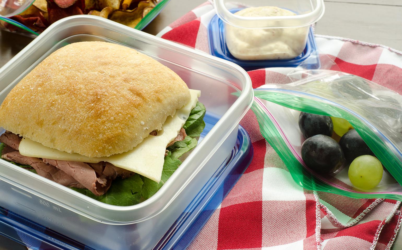 21 ideas fáciles para almuerzos