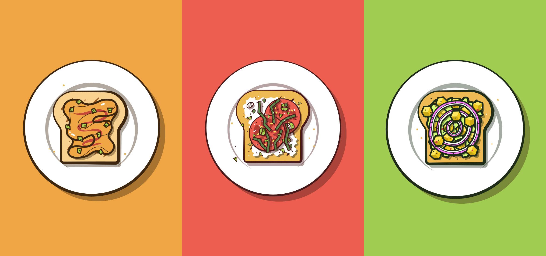 Tres recetas rápidas para tostadas