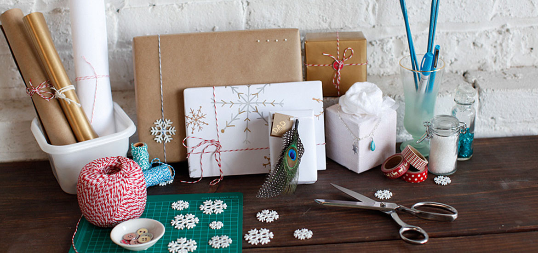 5idées de papiers-cadeaux faits à la main