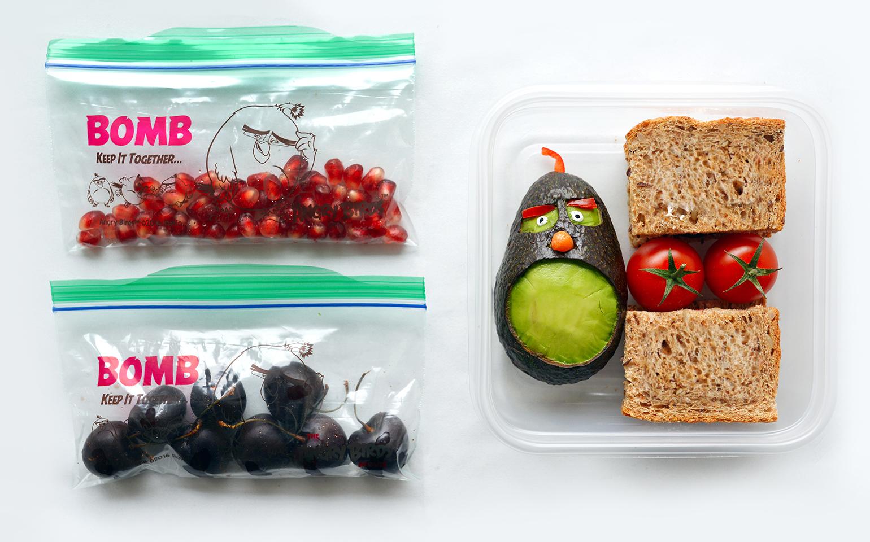 Finis les sacs bruns en papier: Cinq dîners Angry Birds Dites adieu aux sacs bruns en papier: Cinq dîners Angry Birds