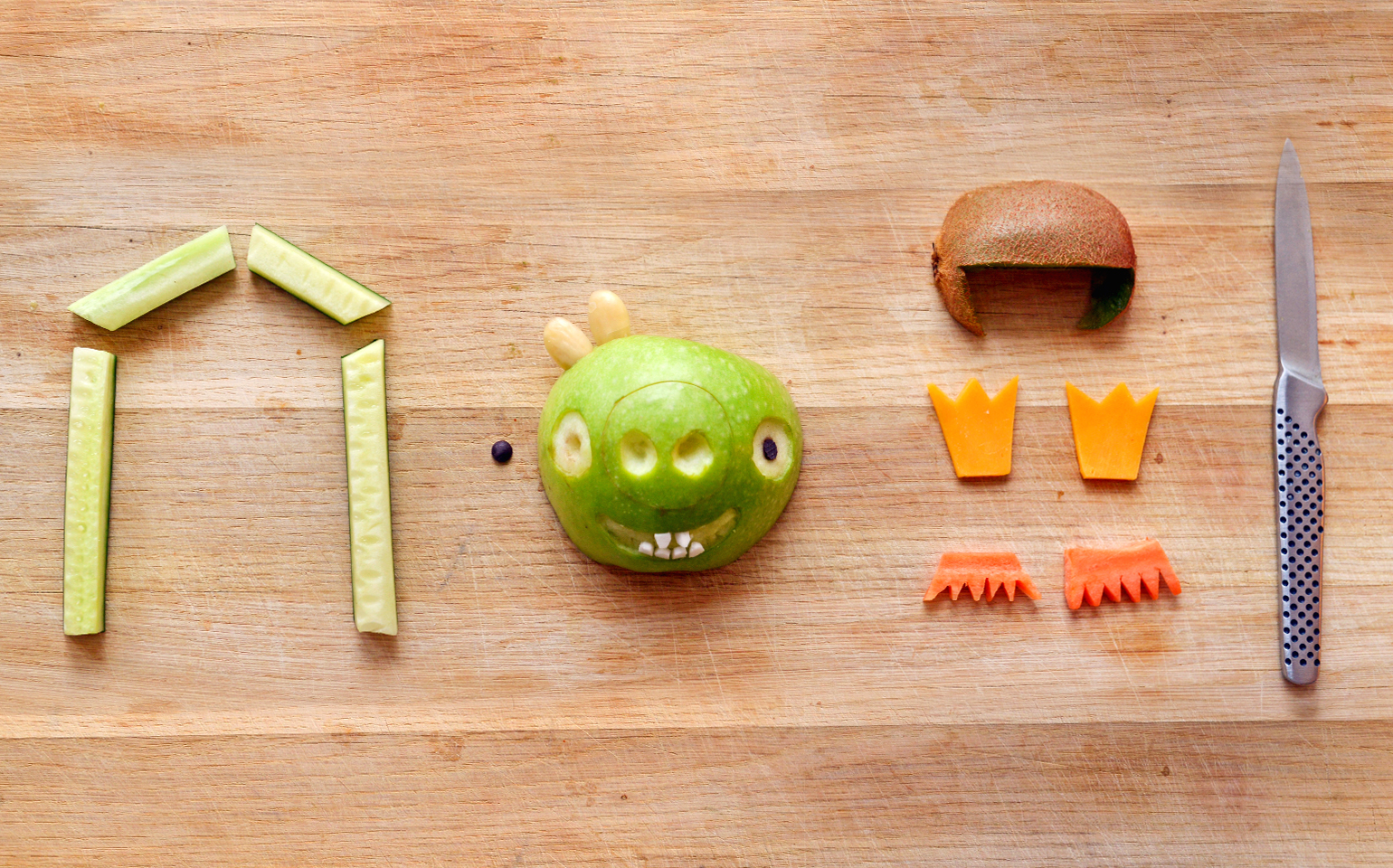 Beat The Brown Bag Blues: 5 Angry Birds Lunches