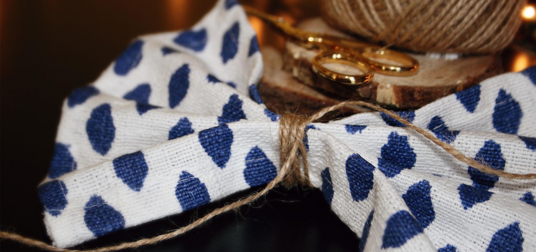 Bow-Tied Napkin Fold