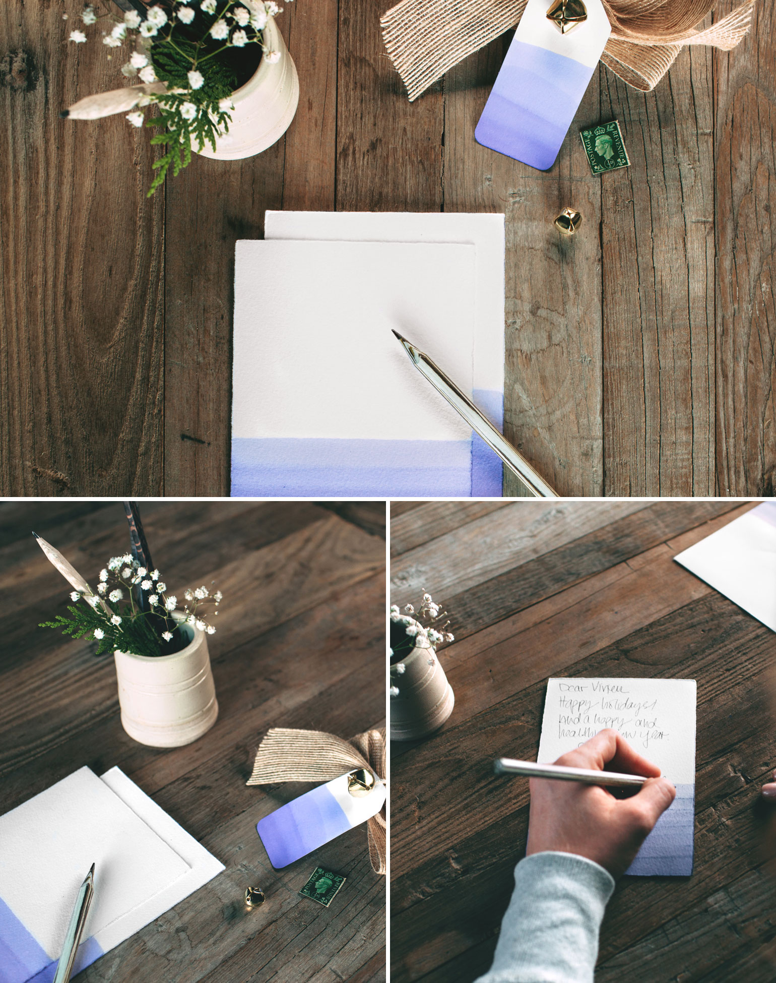 DIY-Dip-Dye-Stationery-Ziploc-Brand