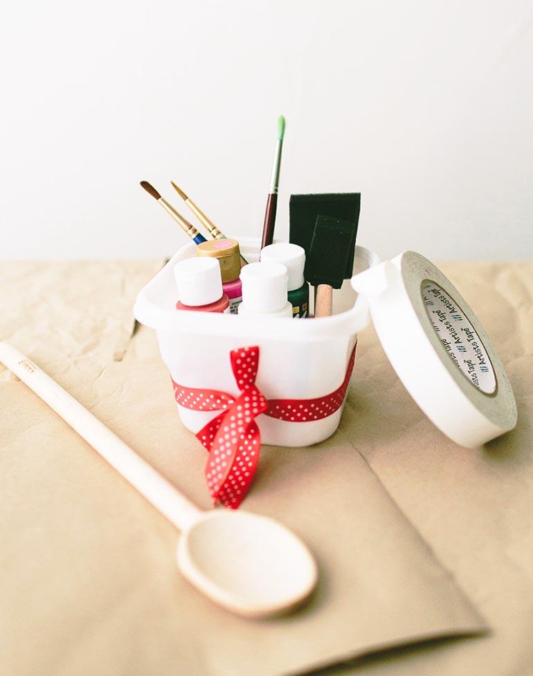 Cuillères-peintes-à-la-main-à-fabriquer-soi-même-marque-Ziploc