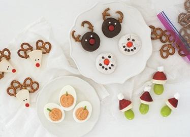 Refrigerios festivos fáciles para niños