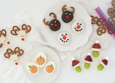 Easy Holiday Snacks for Kids