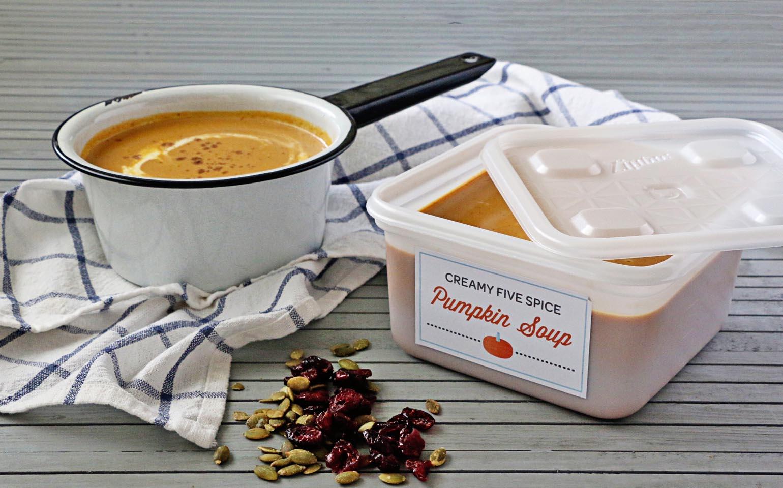 Fabuloso intercambio de sopas para el otoño