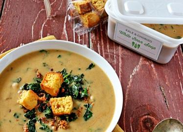 Échange de formidables soupes d'automne