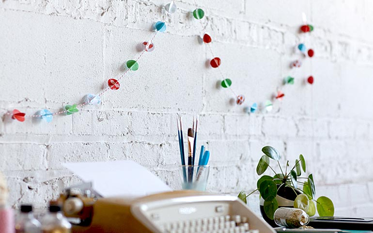 Fabuleuse-guirlande-festive-3D-marque-Ziploc