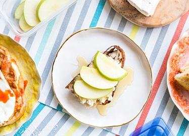 Sándwich de queso tostado sofisticado pero fácil de hacer