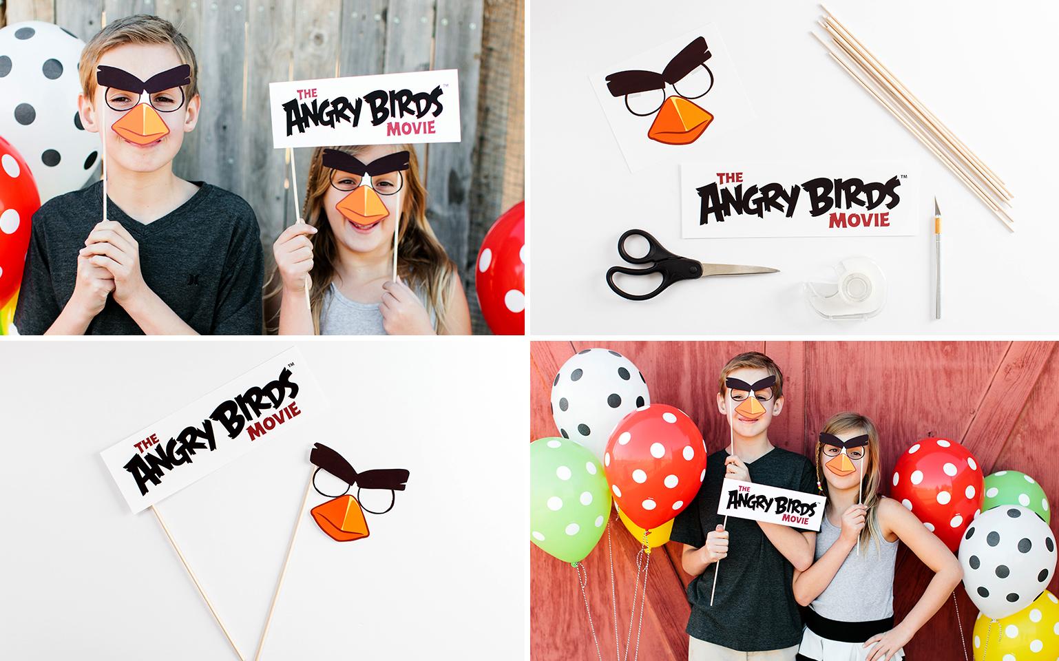 Envolez-vous vers une fête Angry Birds cinématographique