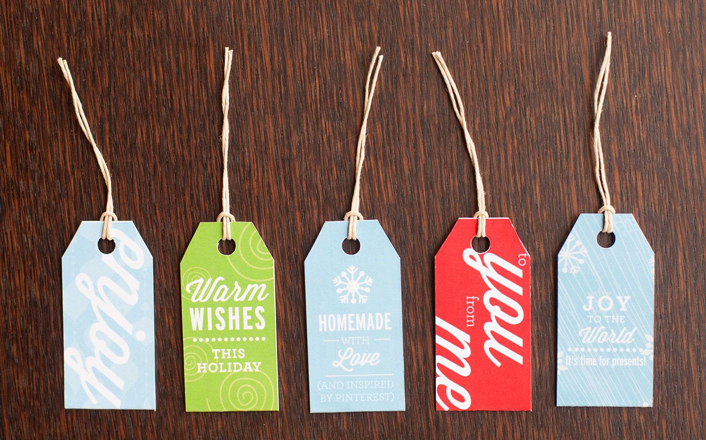 Étiquettes-cadeaux imprimables gratuites