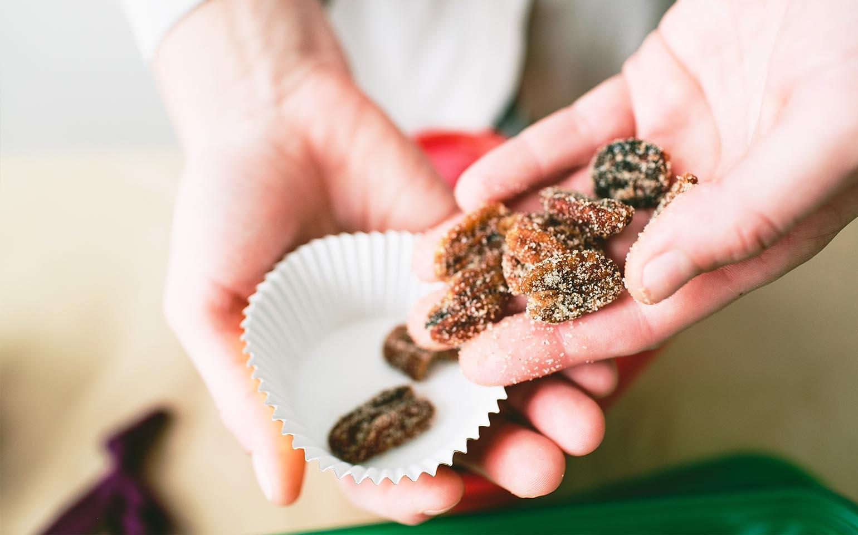 Mélanges de noix des Fêtes