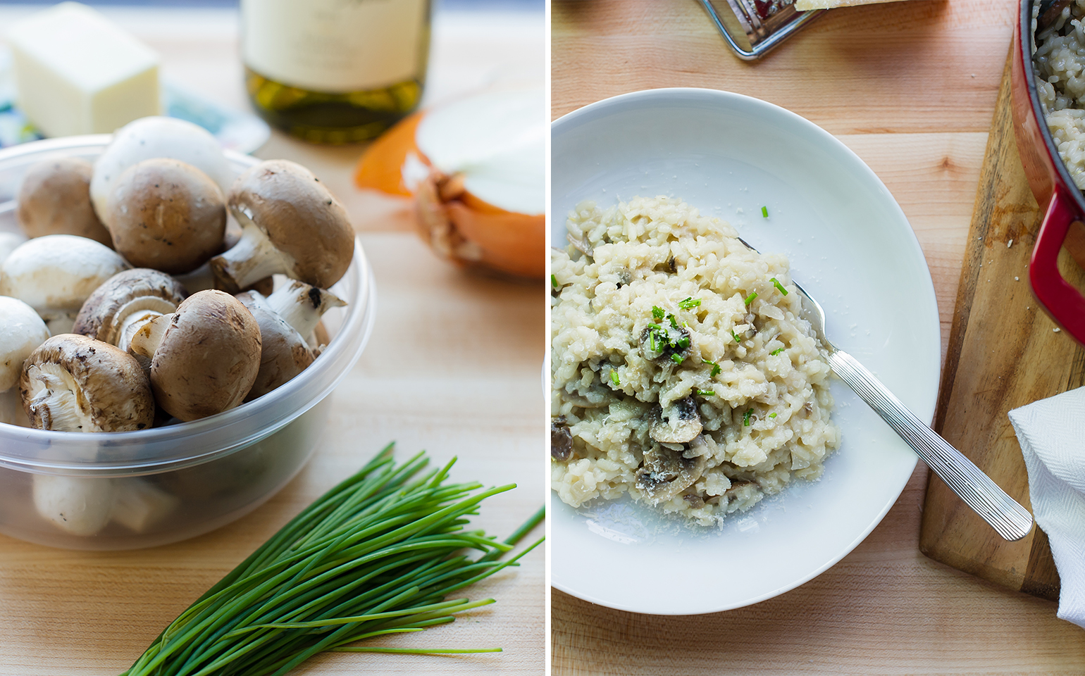 Lunchovers: Risotto for Dinner, Stuffed Potatoes for Lunch