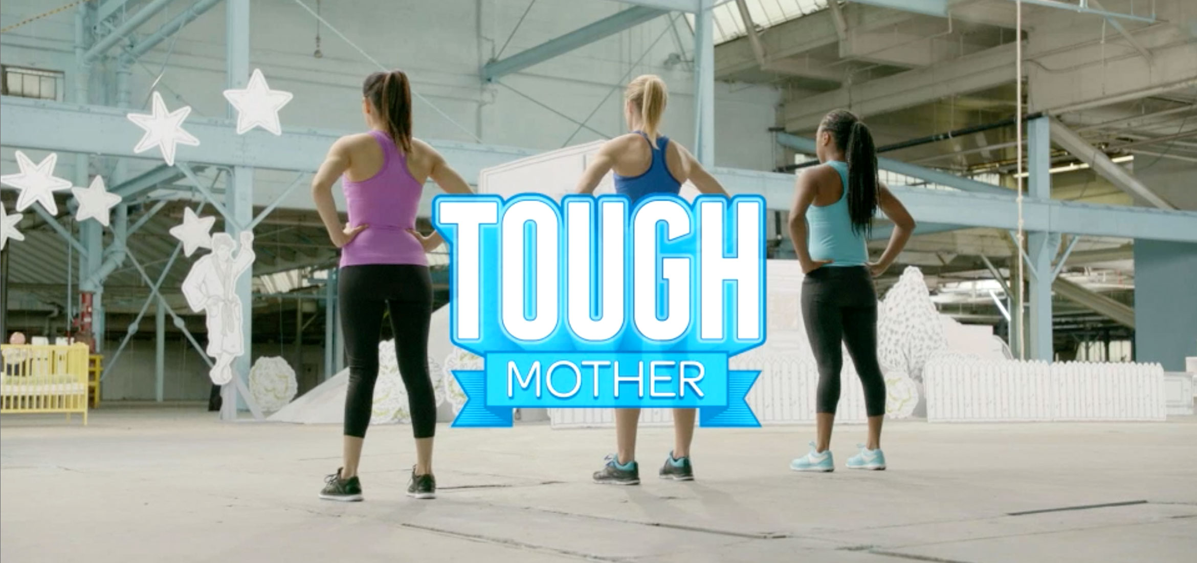 Nine Obstacles. Three Challengers.One Tough Mother