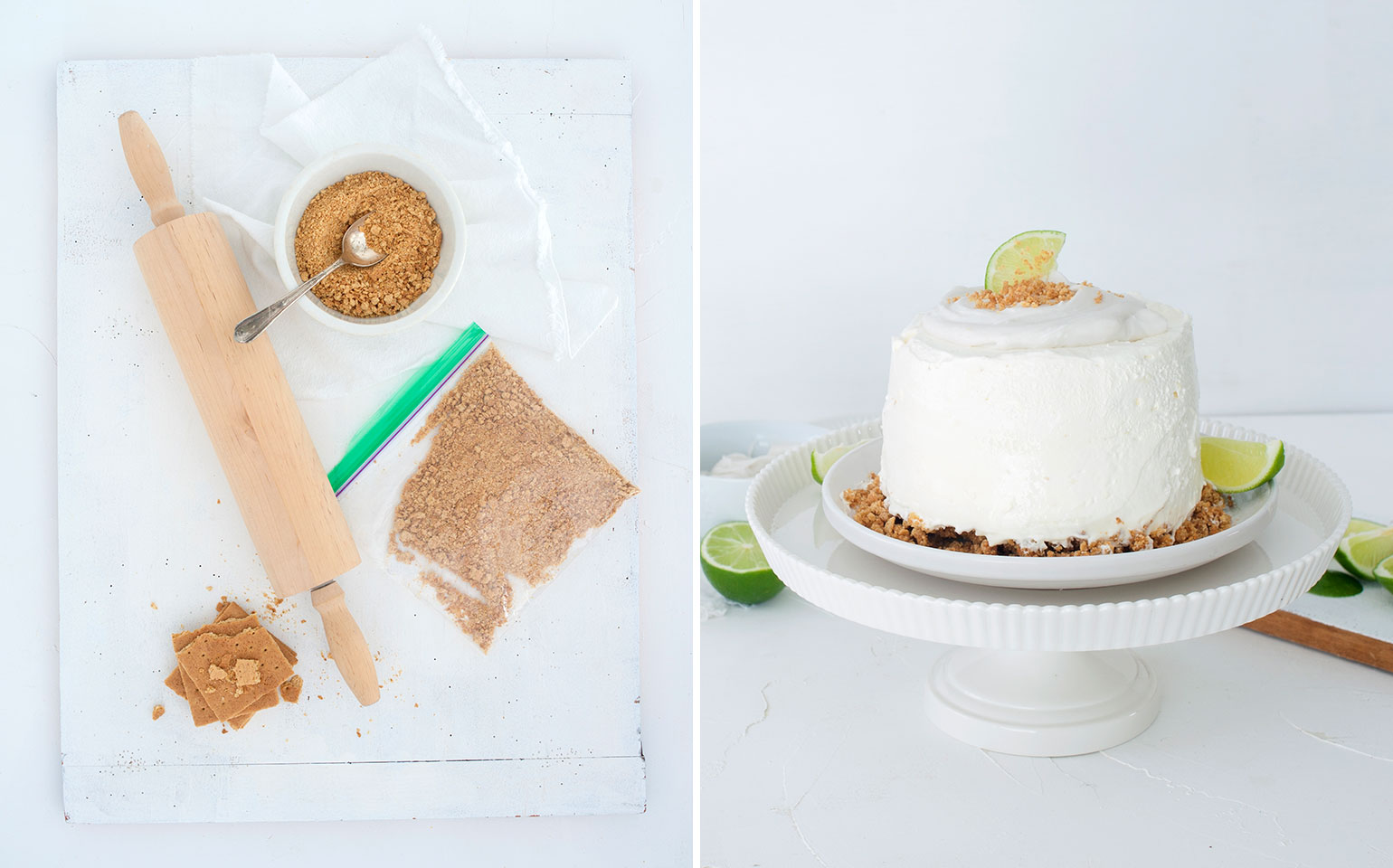 No Bake Container Cakes