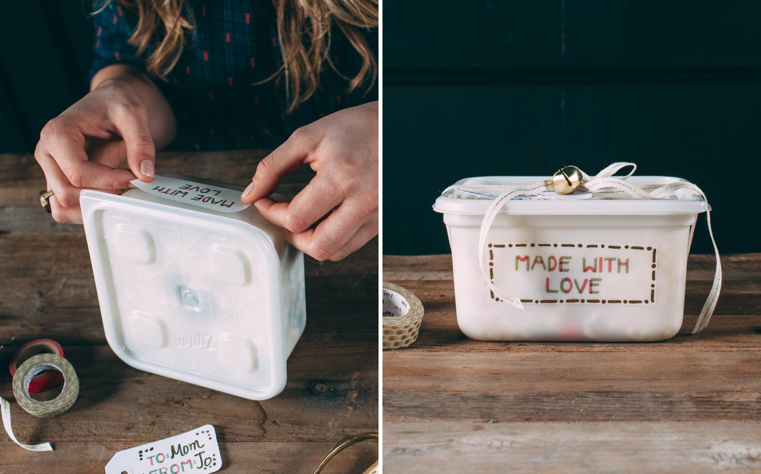 Printable Gift Labels with a Handmade Touch