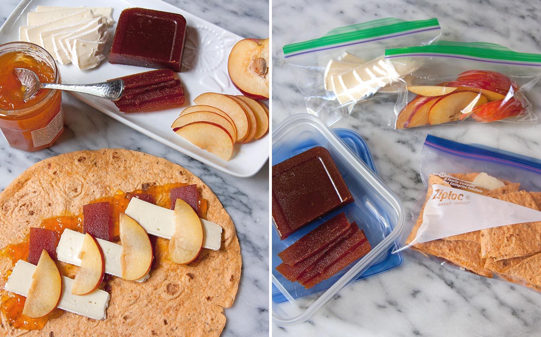 Déjeuners à emporter à l'école prêts en 15 minutes ou moins