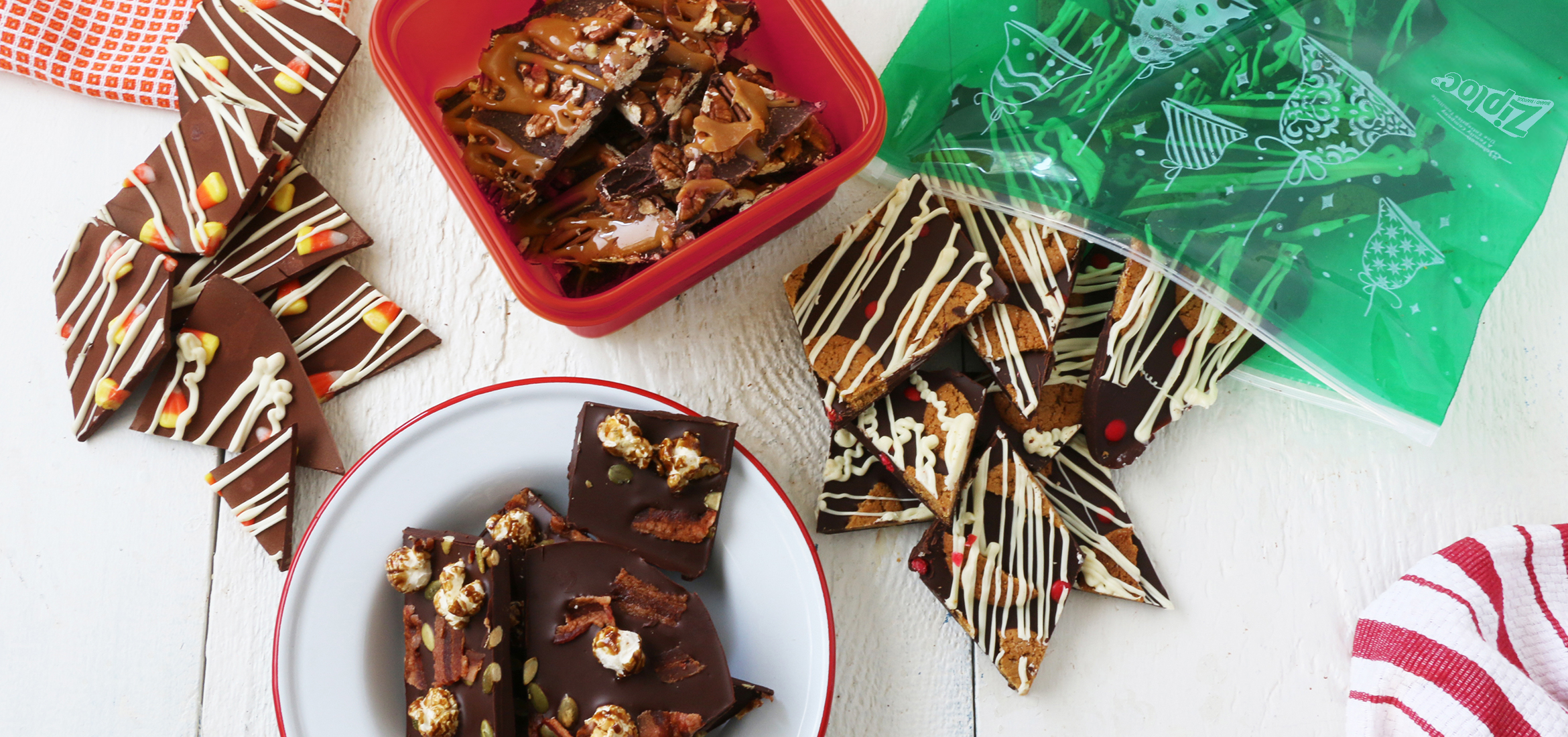 Sweet, Seasonal and Giftable: 4 Bark Candy Twists