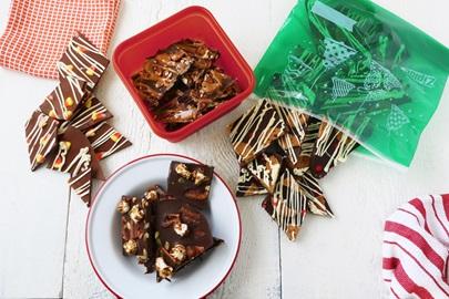 Une douceur pour les fêtes qui fera un cadeau idéal: Quatrefriandises aux copeaux de chocolat réinventées
