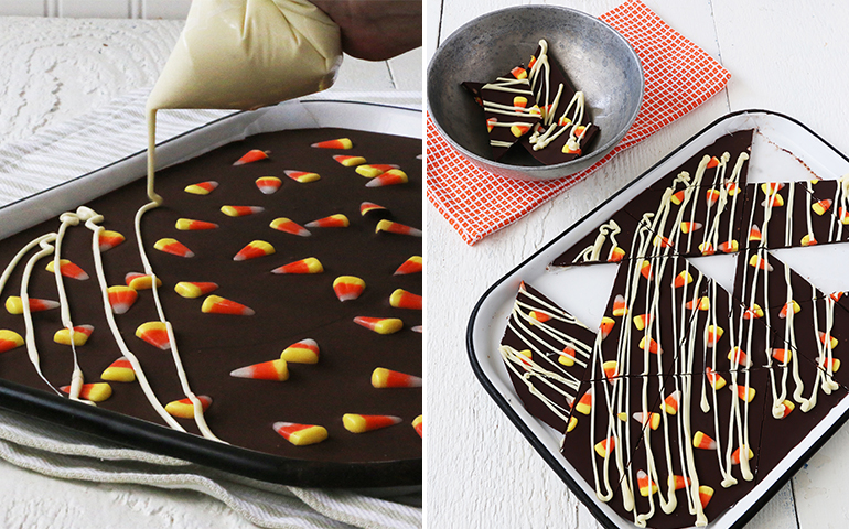 Sweet, Seasonal and Giftable: 4 Bark Candy Twists