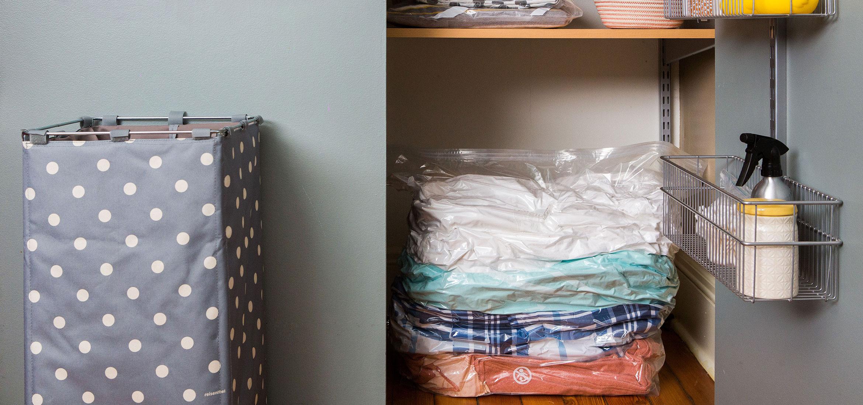 Domestica-al-león-del-armario-de-ropa-de cama-Ziploc