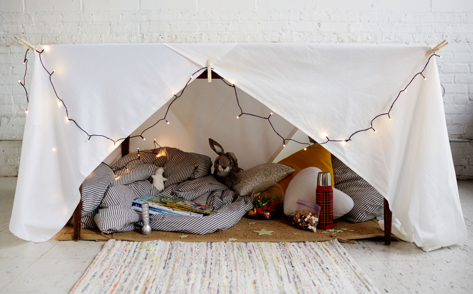 The Indoor Camping Party Guide