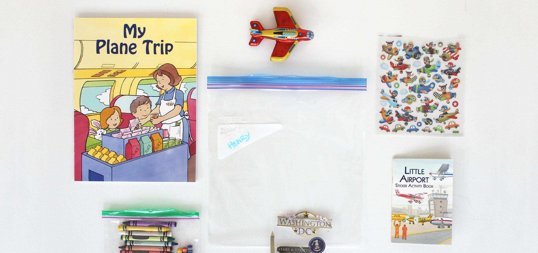 Astuces pour voyager en avion avec des enfants