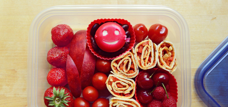 Le dîner du jour vous est offert par la lettre P et la couleur rouge