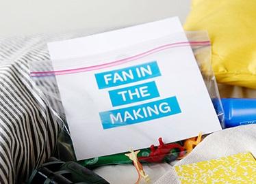 ¿Qué hay en tu bolsa para fanáticos?