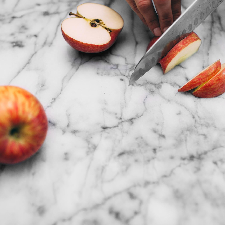 Avena con manzana y especias