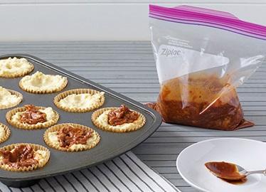 Muffins de style « pain de maïs » à la sauce barbecue