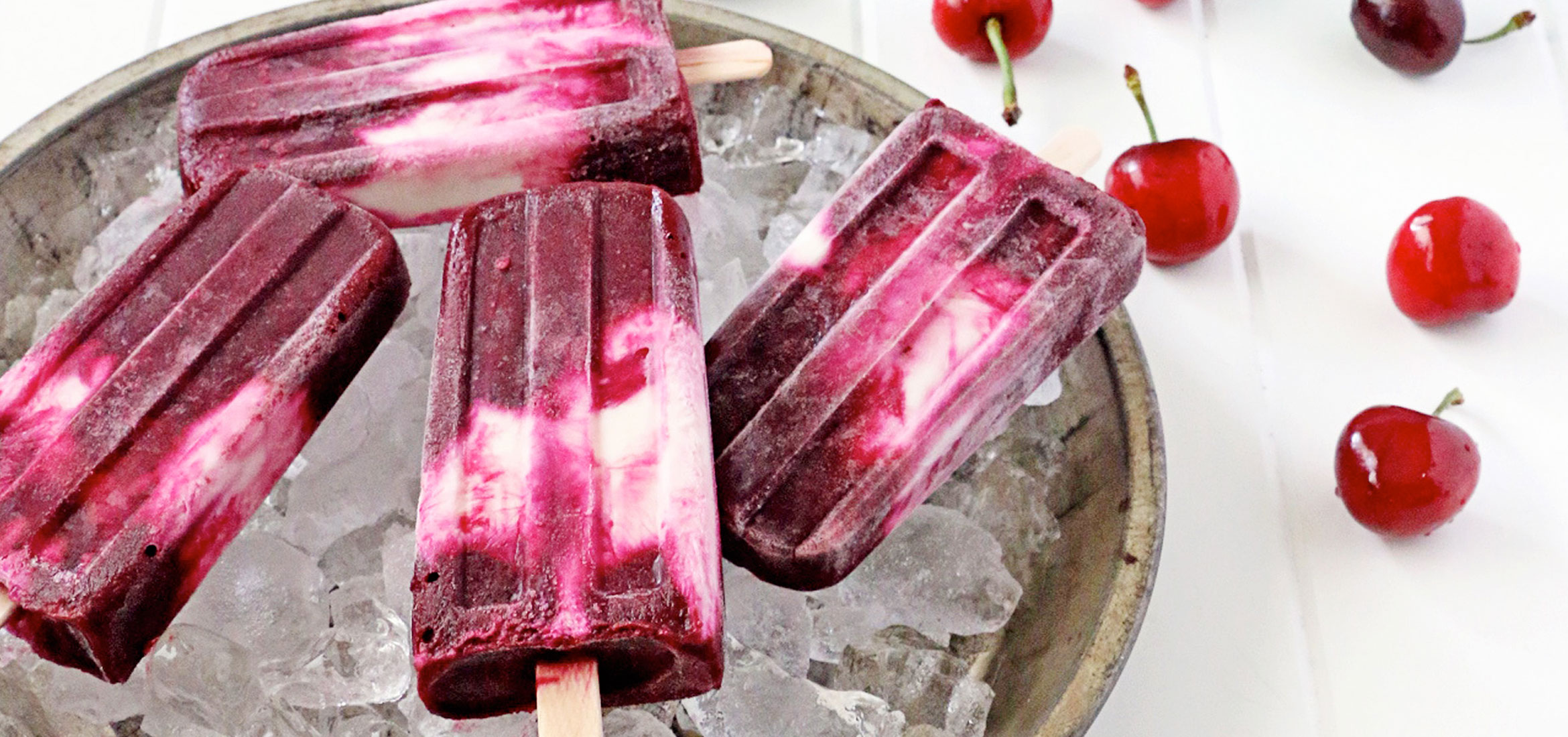 Ziploc Beet Cherry Popsicles Brand Sc Johnson