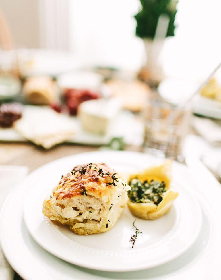 Panecillo de queso y ajo