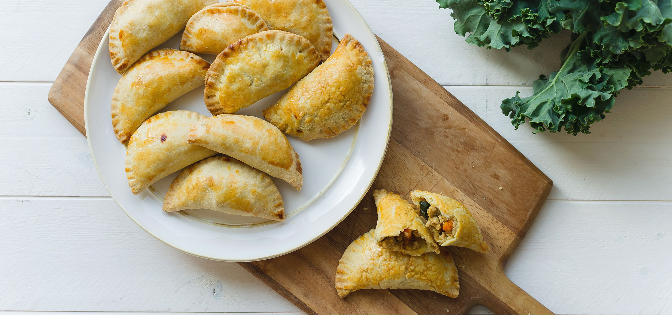 Chicken and Sweet Potato Empanadas