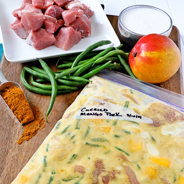 Curried Mango Pork