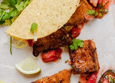 Tacos au poisson rapides à préparer