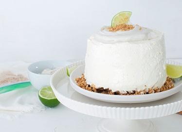 Frozen Key Lime Cake