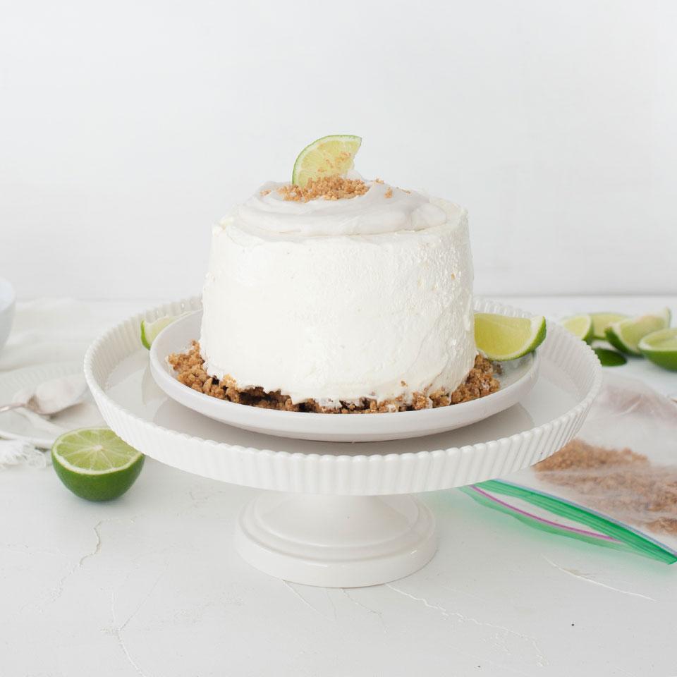 Gâteau glacé à la lime