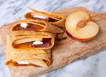 Guava Paste and Brie Wrap