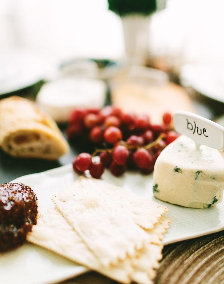 Tabla de quesos celestial