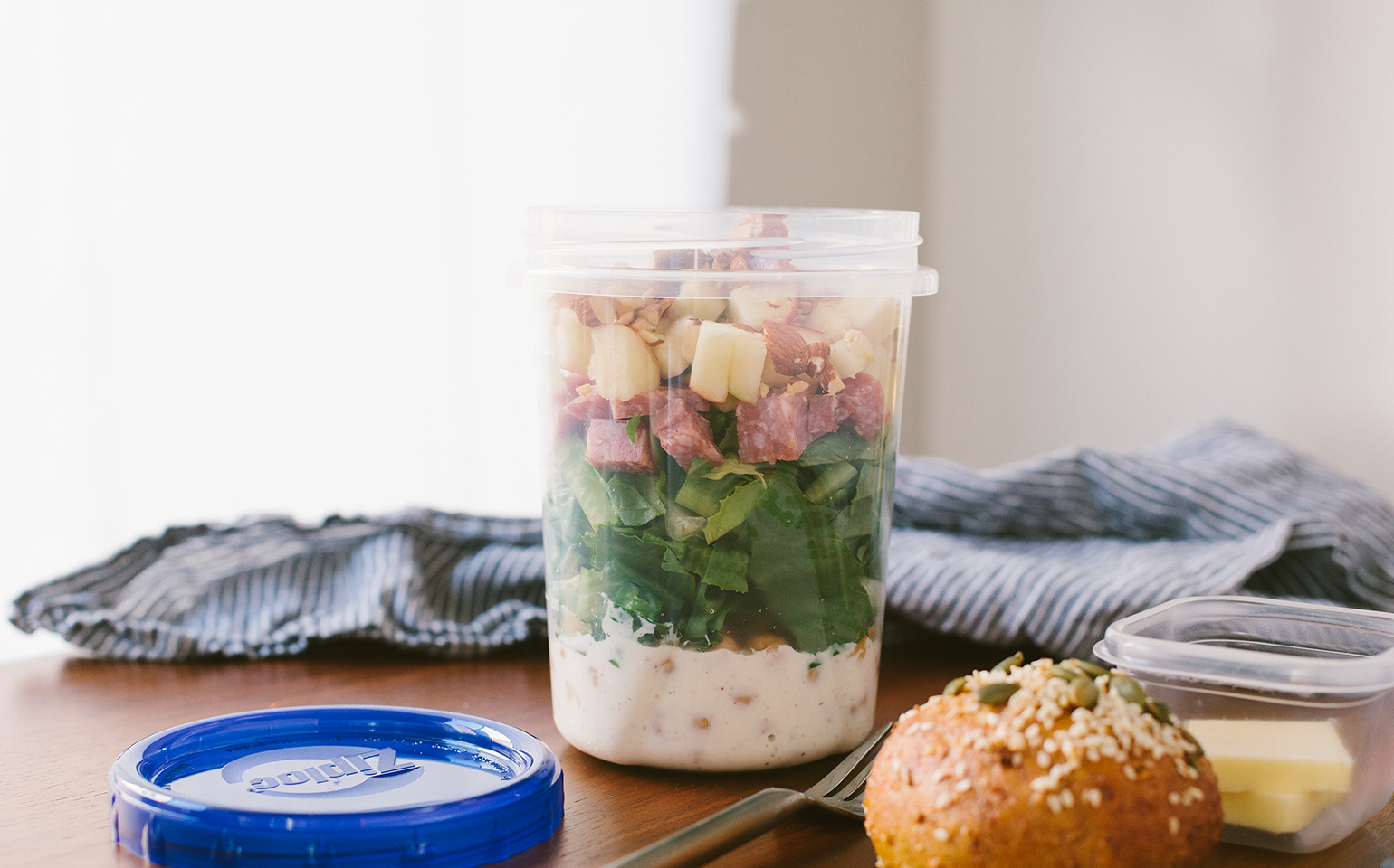 Layered Harvest Chop Salad
