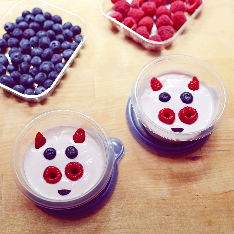 Piggie Yogurt Cups