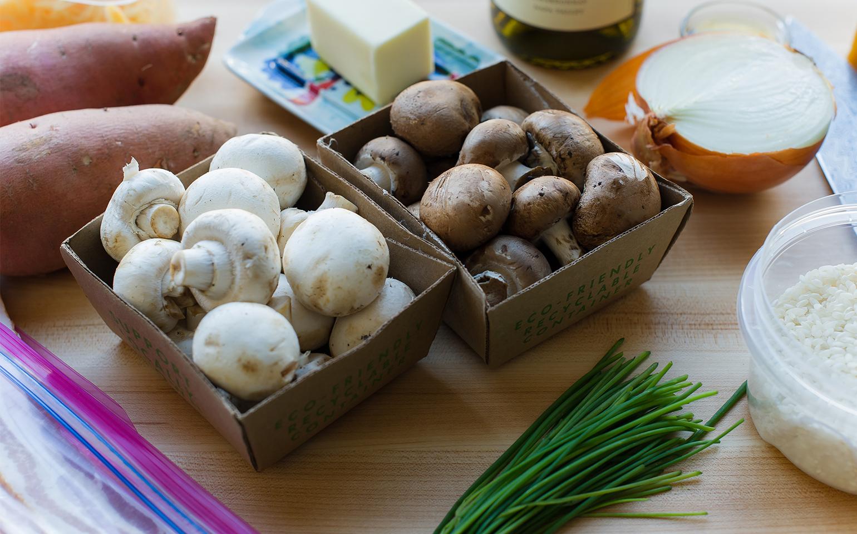 Risotto aux champignons rapide et facile