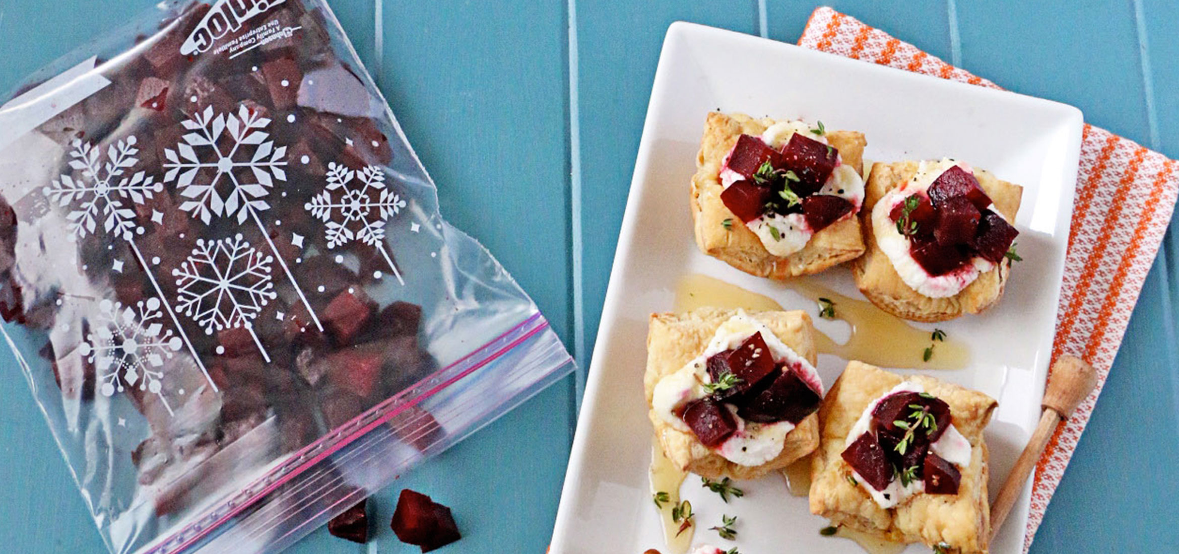 Ricotta Tarts With Roasted Beets And Honey