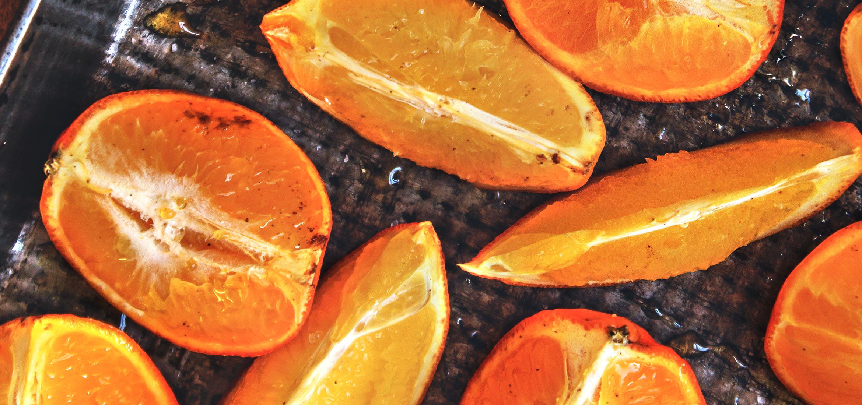 Cítricos asados