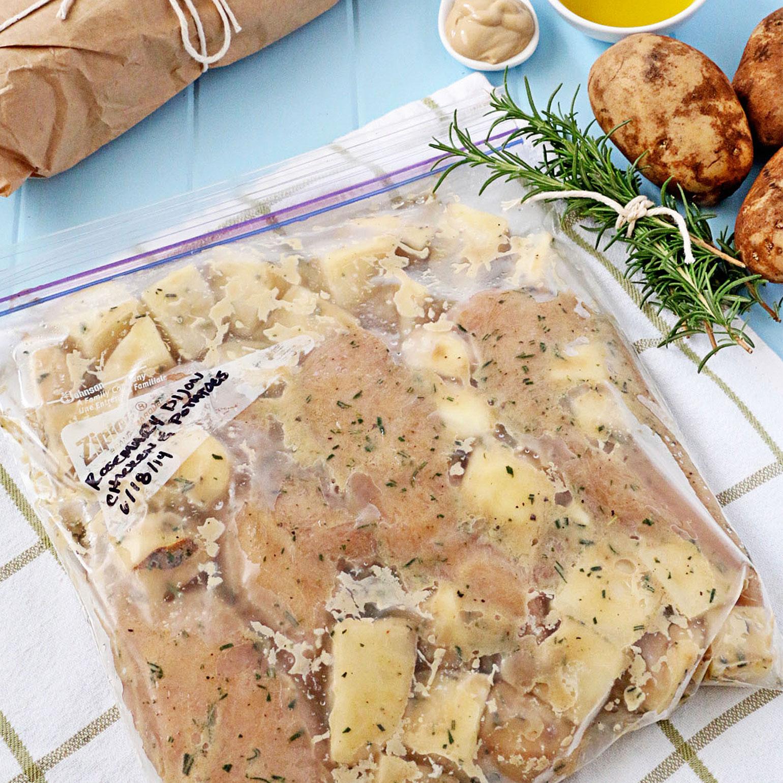 Rosemary Dijon Chicken and Potatoes