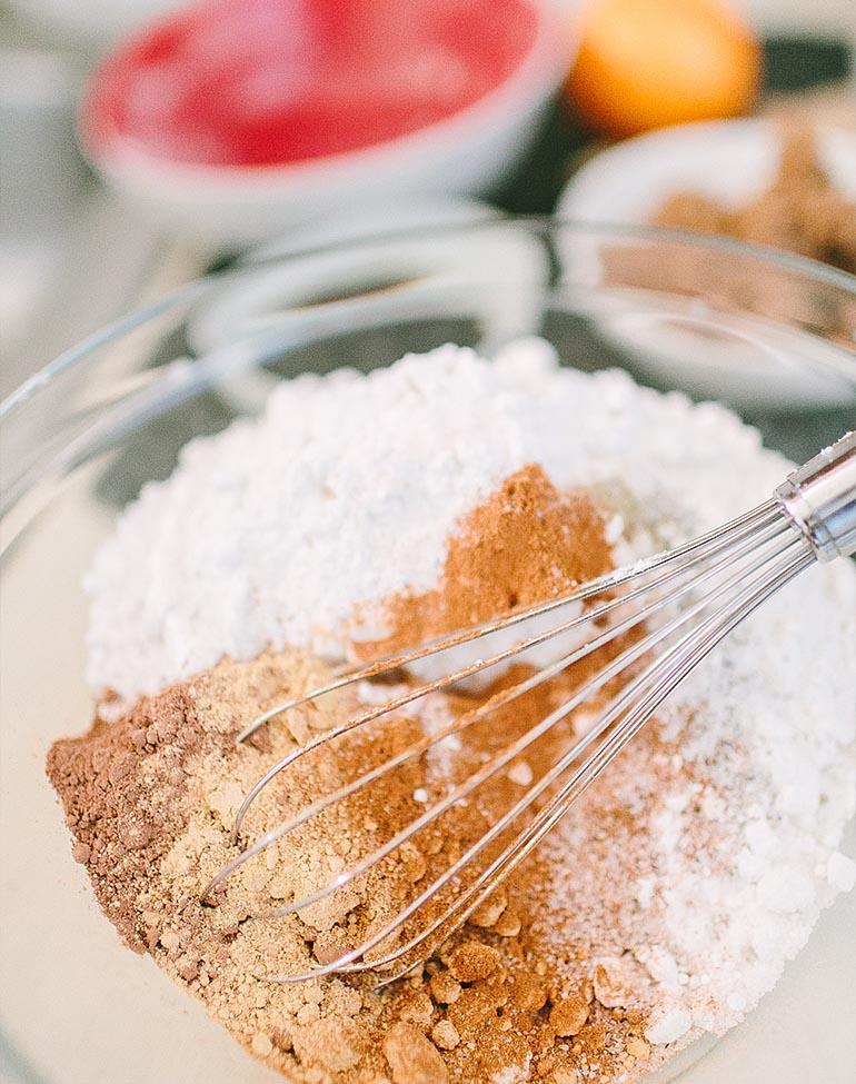 Délicieux gâteau Bundt au pain d'épice