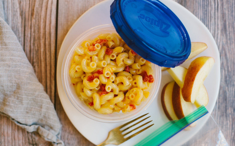 Sharp Cheddar and Pimento Macaroni and Cheese