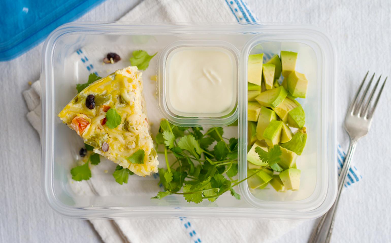 Slow Cooker Veggie Egg Casserole